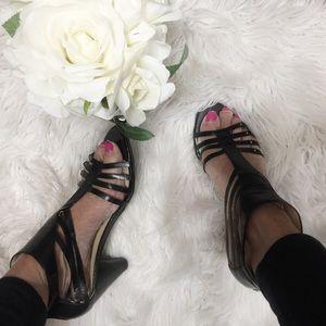 Nine west open toe strappy sandal